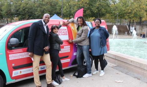 Aller à la rencontre des jeunes dans les quartiers : la Mission Locale de Paris lance son véhicule itinérant !