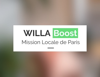 Le 25 Octobre : Willa Boost démarre à la Mission Locale
