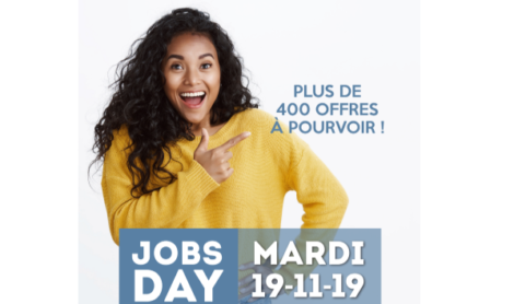 JOBS DAY SPÉCIAL HIVER 19.11.2019