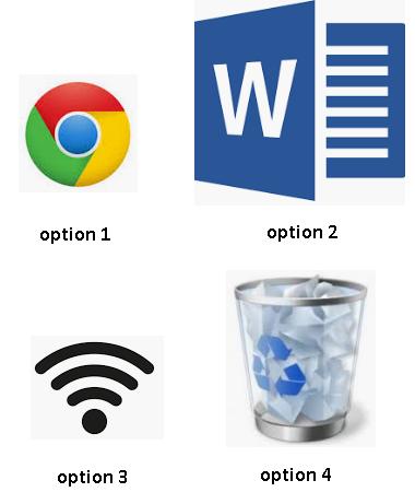 Sur quelle icône doit on cliquer pour aller sur Internet ?