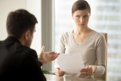 Si je ne suis pas d'accord avec les directives ou l'organisation du travail, je donne mon avis, je négocie.