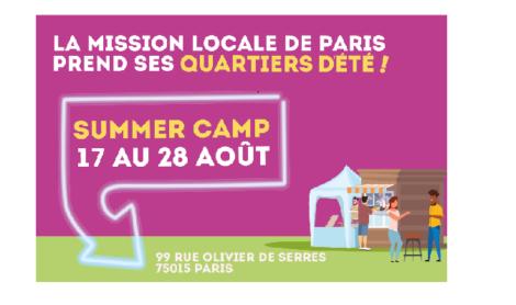 Programme du « Summer Camp »