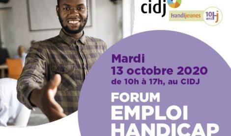 Forum Emploi Handicap – 13/10/2020