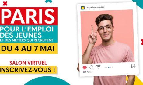 Salon en ligne : Paris pour l'emploi des jeunes
