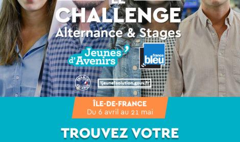 Jeunes d'Avenirs : Le Challenge Alternance & Stages du 6 avril au 21 mai 2021