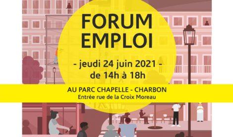 Rendez-vous au Forum de l'Emploi le 24 juin !