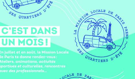 M-1 : La Mission Locale de Paris (re)prend ses quartier d'été !
