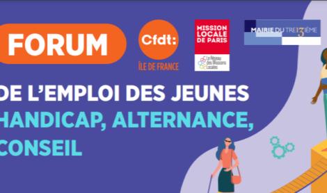 La 6ème édition du Forum de l'Emploi des Jeunes, du Handicap et de l'Alternance