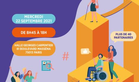 En septembre, participez à la 6ème édition du Forum de l'Emploi des Jeunes, du Handicap et de l'Alternance
