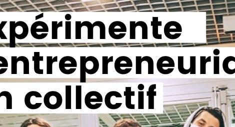 Expérimenter un projet entrepreneurial en collectif avec la Coopérative jeune majeur